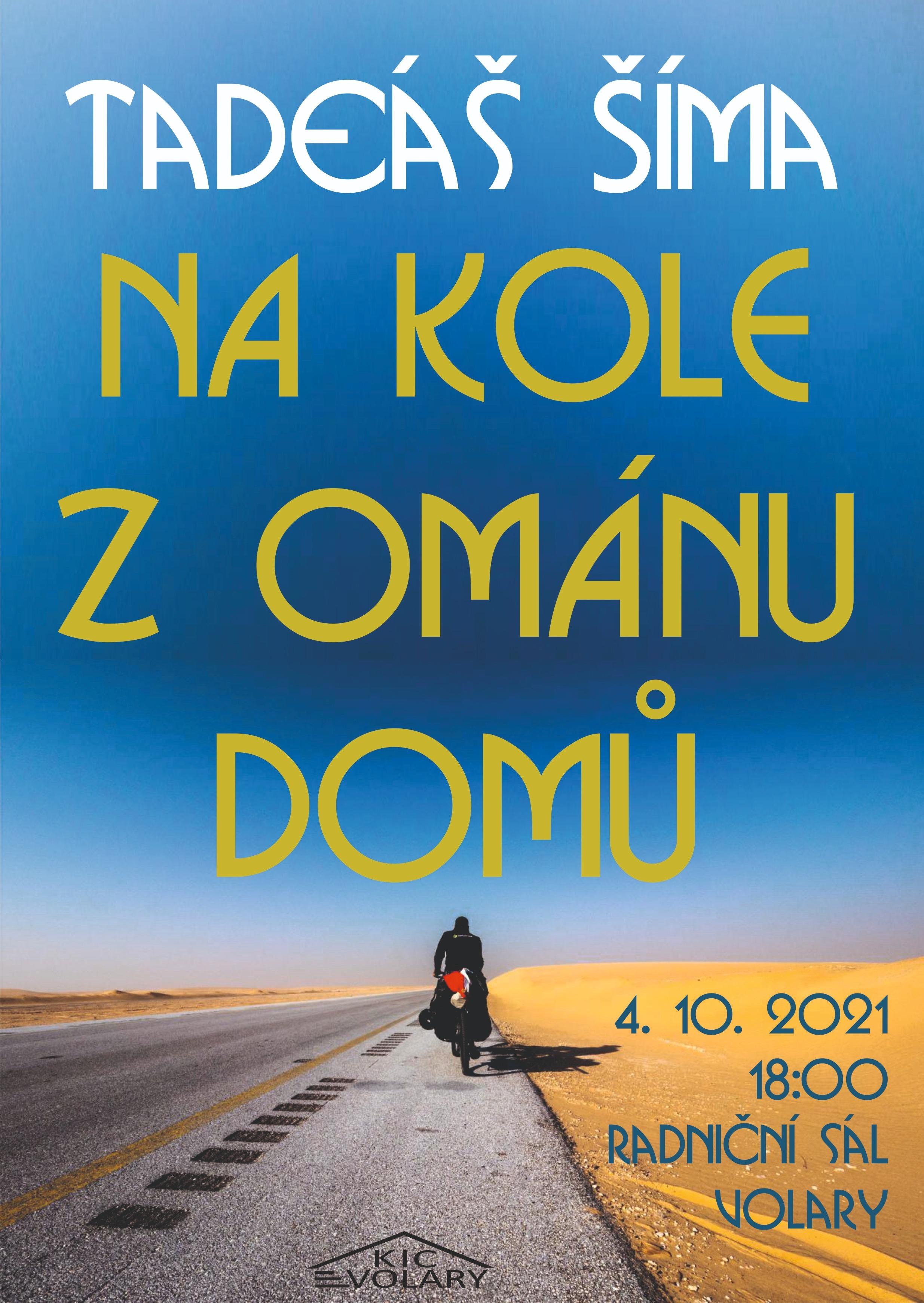 Na kole z Ománu domů